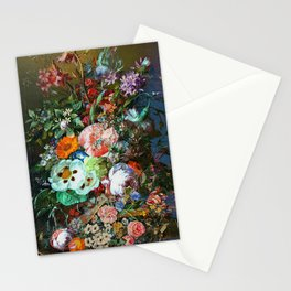 Bohemian festive floral Stationery Cards