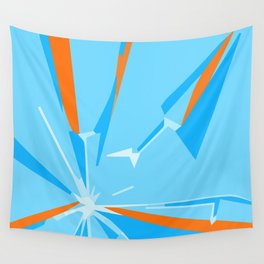 Cheery Shattering Wall Tapestry