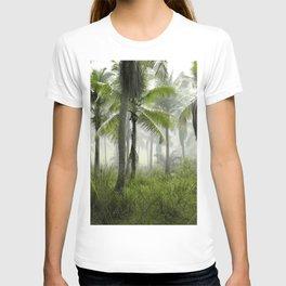 Foggy Palm Forest T-shirt
