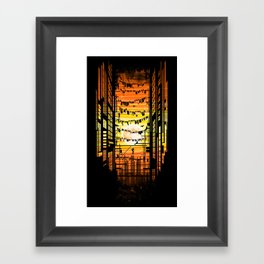 the wires Framed Art Print