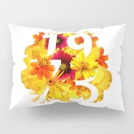 Flower 1973 Pillow Sham