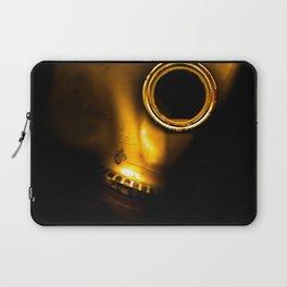 Gasmask embrio Laptop Sleeve