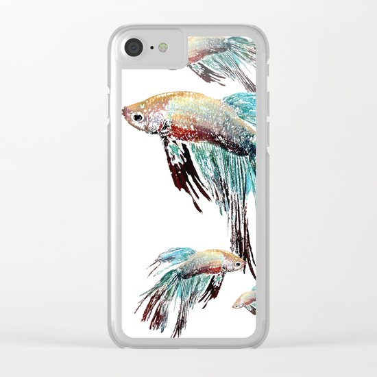 FanFish Clear iPhone Case