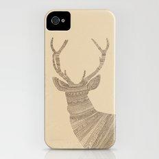 Stag / Deer (On Paper) iPhone (4, 4s) Slim Case