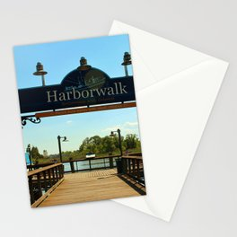 Harborwalk Sign Stationery Cards
