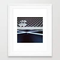 stitch Framed Art Prints featuring stitch by resonate