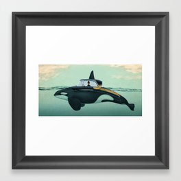 The Turnpike Cruiser of the sea Framed Art Print