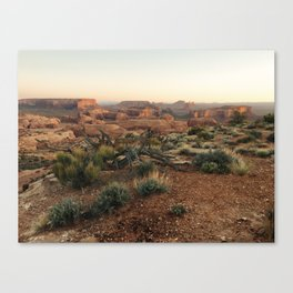 Monument Valley Morning Canvas Print