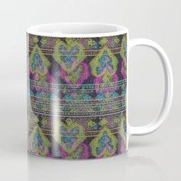 Persian Carpet  Black Distressed 2 Coffee Mug