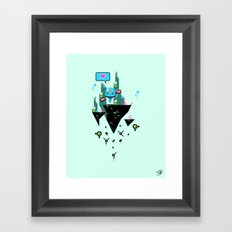 Judge Jelly Framed Art Print