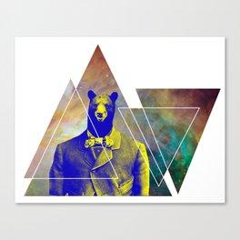 bear with class Canvas Print