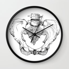 Pelvic Bone Wall Clock