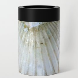 Seashell and Straw Can Cooler