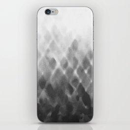 Diamond Fade in Grey iPhone Skin