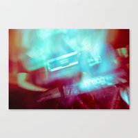 outer space Canvas Prints featuring Outer Space by Steven Springer