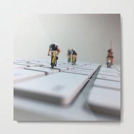 Keyboard Roubaix Metal Print