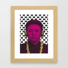Kim Jong ILL Framed Art Print