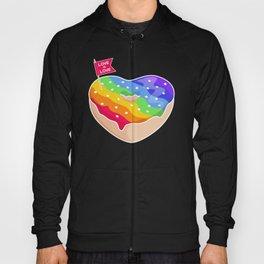 'Love is Love' Gay Pride Donut Hoody