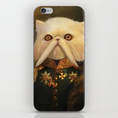 Persian Cat Emperor iPhone Skin