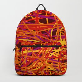 Colored Line Chaos #1 Backpack