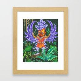 Balinese Garuda Framed Art Print
