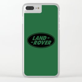 land rover Clear iPhone Case