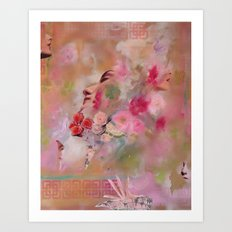 Floral Dreams Art Print