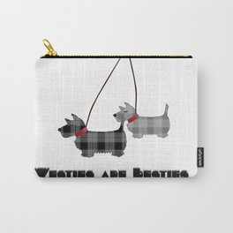 Westies are Besties Carry-All Pouch