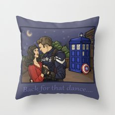 Back for that Dance Throw Pillow