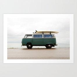 Superior Surf Art Print