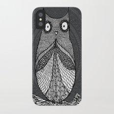 Doodle Owl Slim Case iPhone X