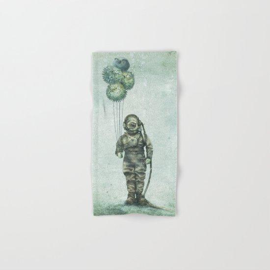 Balloon Fish Hand & Bath Towel