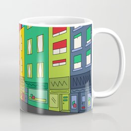 Single Shopping Street Coffee Mug