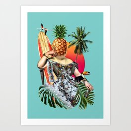Chillax Art Print