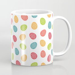 Easter Egg Parade Colorful Pattern Coffee Mug