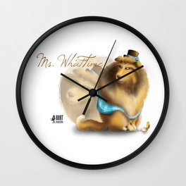 Ms. WhatTime Wall Clock