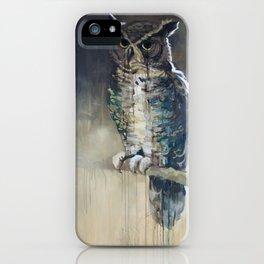 Undead Owl iPhone Case