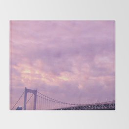 Rainbow Bridge Throw Blanket