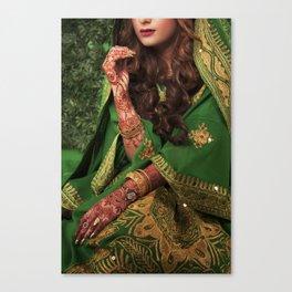 Indienne Canvas Print