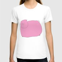pig T-shirts featuring Pig by Aina Bestard
