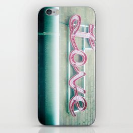 Sign of Love iPhone Skin