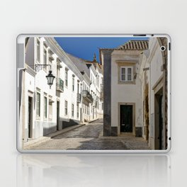 The old town Faro, Algarve, Portugal Laptop & iPad Skin