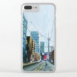McCaul Street Clear iPhone Case