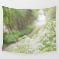 country Wall Tapestries featuring Country Road by Pure Nature Photos