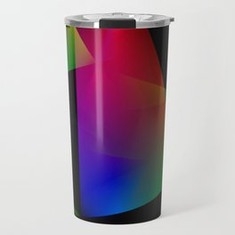 Sailing Abstract Travel Mug