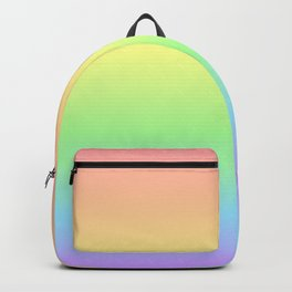 Pastel Rainbow Gradient Backpack
