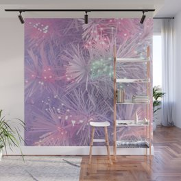 HAPPY NEW YEAR LIGHTS Wall Mural
