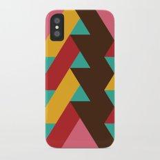 Ribbon Pattern 2 iPhone X Slim Case