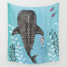 Whale shark! Wall Tapestry