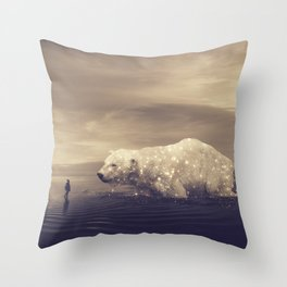 retrouvailles II Throw Pillow